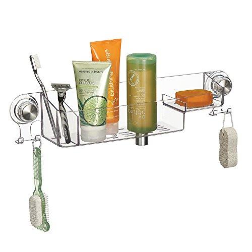 mdesign-cestino-per-doccia-per-shampoo-balsamo-sapone-trasparente-acciaio-inox-spazzolato