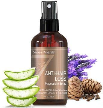 Spray Capillaire ANTI-CHUTE au Magnésium. Produit Naturel et Organique – Traitement pour Homme et...