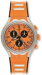 Swatch Montre de bracelet quartz chronographe silicone yys4010