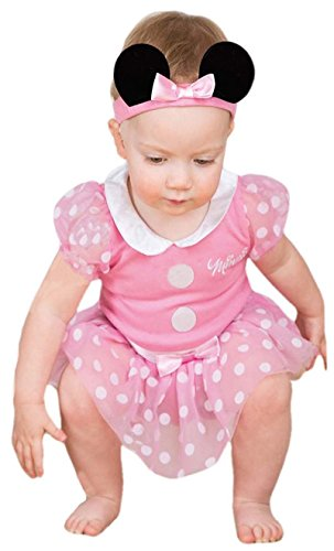 Minnie Maus Baby-Kostüm, Pink, 9-12Monate