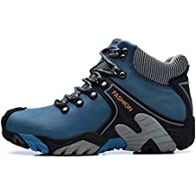 SINOES Zapatos de Senderismo Hombre Outdoor Botas de Trekking Zapatillas de Senderismo Escalada Zapatos de Montaña