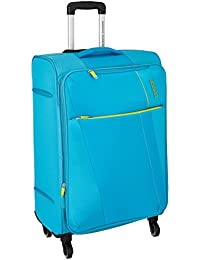 American Tourister Michigan Polyester 79 cms Aqua Suitcase (AMT Michigan SP79CM TSA Aqua)