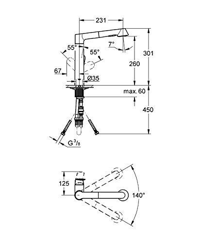 K7 technische Zeichnung