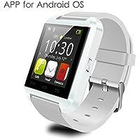 YAMAY® Bluetooth Smartwatch Orologio Fitness Tracker Monitoraggio Sonno Contapassi Suoneria