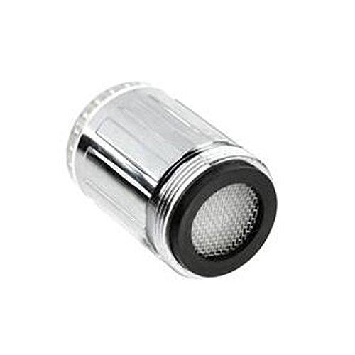 Pawaca Mini 3 Colors Changing Led Faucet Temperature Control Sensor Tap Shower Head For Kitchen&Bathroom