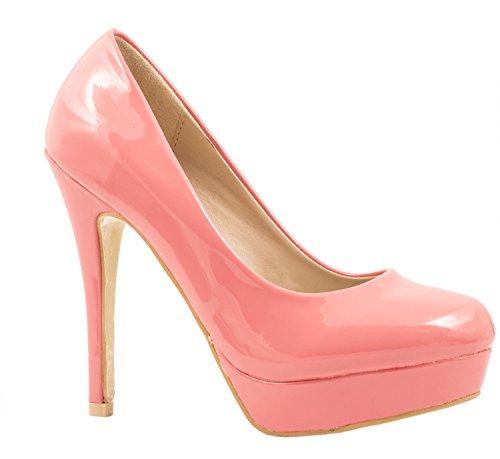 Noël Nouvel An, sortez Elara vous-même Elara sortez Plateau Femme Moderne, Escarpins Talons Hauts Chaussures à cede3b