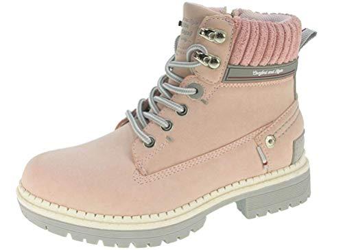 Beppi Mädchen Winter-Stiefel Warm Gefüttert - Hohe Mädchen-Schuhe, Gr. 30