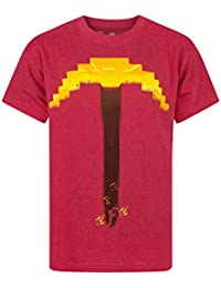 Minecraft Pickaxe Boy's T-Shirt
