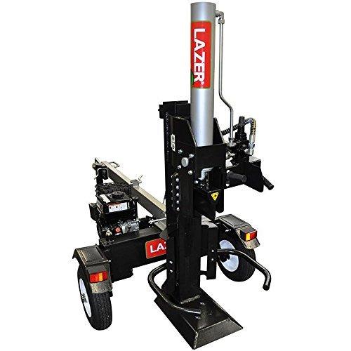 Lazer LSE22Holzspalter, für Holzscheite, motorbetrieben, Thermo, LCT 208, 22t,Länge bis 63 cm, horizontal und vertikal