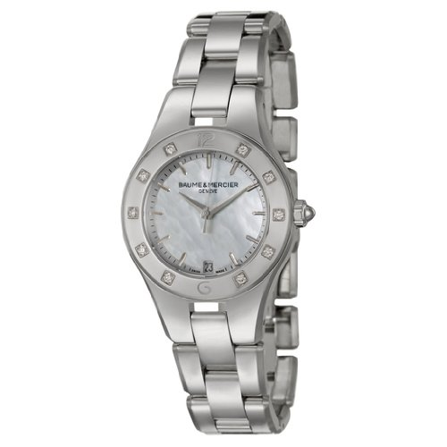 Baume and Mercier Linea Women's Quartz Watch MOA10071
