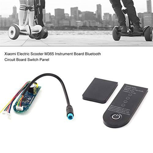 Dkings 2019 Neueste Roller Platine Ersatz für Xiaomi M365 + Frontplatte, Durable Professional Stable Ersatzplatine für Dashboard Cover für Xiaomi MIJIA M365 Scooter -