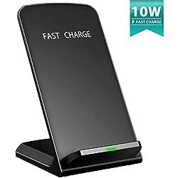 [Qi Chargeur Sans Fil Rapide] Seneo Wireless Quick Charge 2.0, Chargeur à Induction pour Samsung Galaxy Note 8/ S8/ S8 plus/ S7 / S6 Edge Plus, iPhone8/ 8 Plus, iPhone