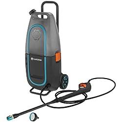 Gardena Nettoyeur Haute Pression Aquaclean Li-40/60 Sans Batterie: Nettoyeur pour l'Extérieur, Réservoir de 14 Litres, Pression Max. 90 Bars (9341-55)