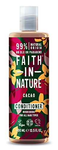 Faith In Nature Schokolade Haarspülung 400 ml (Schokolade Conditioner)