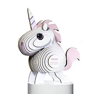Dodo País 61126-Puzzle eugy-Unicorn