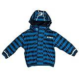 SALT AND PEPPER Jungen Jacket RB Boys Stripe Regenjacke, Blau (Blue 447), 104