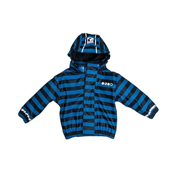 Salt & Pepper Jacket RB B Boys Stripe Chaqueta Impermeable Unisex bebé 1