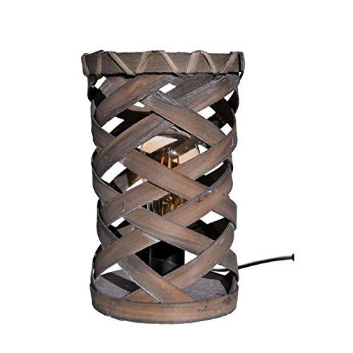 Lampe de table Aloa 27 cm gris