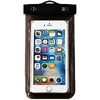 Lorjoy Táctil de PVC resistente al agua caja del teléfono de pantalla sensible Claro para Smartphones hasta 5,8 pulgadas