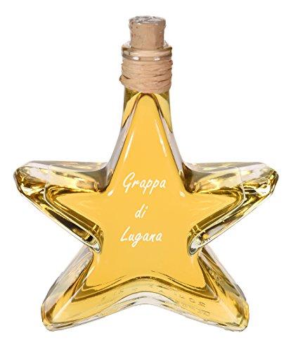 Grappa Lugana in der 0,2l Stern Flasche