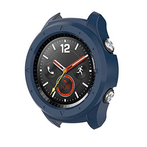 TianranRT★ Universal-Uhrenarmband - Silikon-Schutzhülle Silikon-Schutzhülle Für Huawei Watch 2 Smartwatch, Elegant New Durable Und Beautiful, Blau