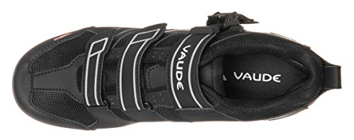 VAUDE Exire Advanced Rc, Chaussures de Vélo de Route Mixte Adulte Noir (Black/silver)