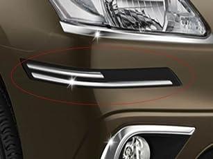 Guance Black Rubber Car Bumper Safety Guard Protectors for Honda Amaze 2018