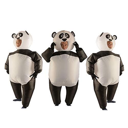 Kostüm Fett Anzug Luft - Baoblaze 3X Lustige Panda Kostüm Aufblasbares Kostüm Luft Jumpsuit Fett Anzug Cosplay Zubehör