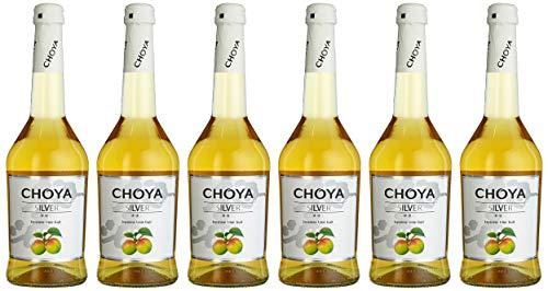 Choya Silver (Weinhaltiges Getränk, Ume Frucht, japanischer Pflaumenwein, fruchtig, süßlich, 10{e50ed468bc12ad5bc29aef53f657f56fe8791e24787983a3bffad6bd4bdfba88} vol.) 6er Pack (6 x 0,5 l)
