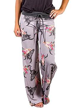 813d67188 Juqilu Mujer Pantalones Anchos d « ES Compras Moda PrivateShoppingES.com