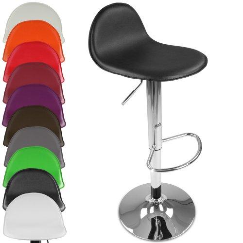 Miadomodo Barhocker Tresenstuhl Barstuhl Tresenhocker modern um 360° drehbar im Set und in der Farbe Ihrer Wahl