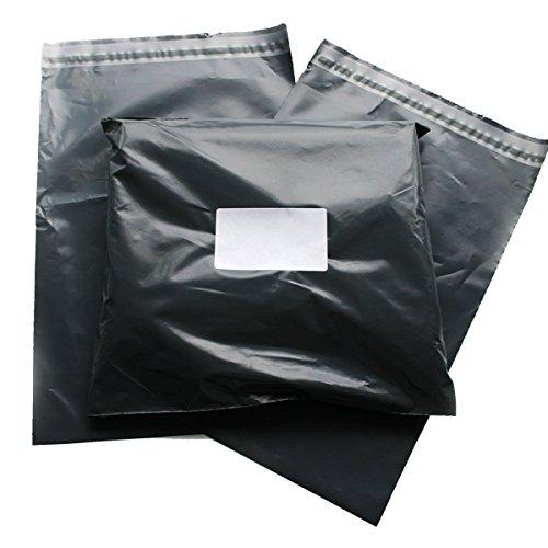 Triplast 23 x 30 cm, in plastica, per spedizioni postali, colore: grigio (Confezione da 200)