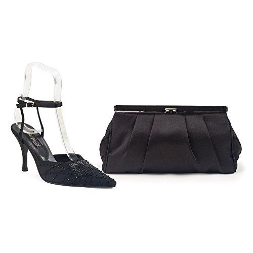 Kleine Wolke-Astuccio in coordinato e scarpe Nero (nero)