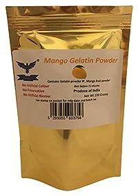 Mango Gelatin Powder 100gm (Real Fruit Powder)