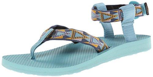 Teva Women's Original Sandal, Mosaic Vintage Indigo, 5 M US