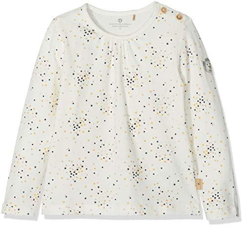 Bellybutton mother nature & me Baby-Mädchen Langarmshirt T-Shirt 1/1 Arm, Mehrfarbig (Y/D Stripe 0001), 86