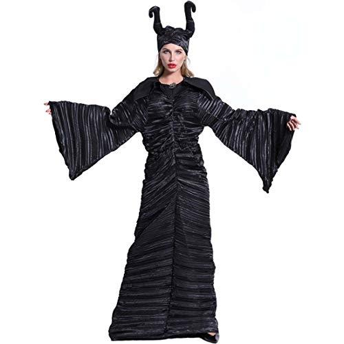 SPFTOY Halloween Make-Up Cosplay Schlaf Fluch Dunkle Hexe Königin Montenegro Old Demon - Dunkle Königin Kostüm Mädchen
