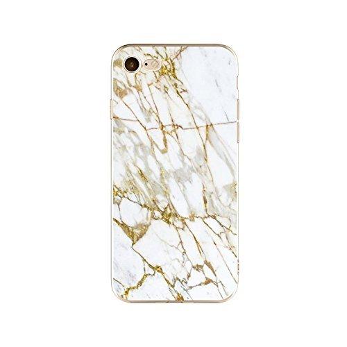 Schutzhülle iPhone 7Plus Schutzhülle étui-case transparent Liquid Crystal TPU Silikon klar, Schutz Ultra Slim Premium, Schutzhülle Prime für Iphone 7plus-marbre 18