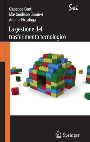 La Gestione Del Trasferimento Tecnologico - Strategie, Modelli E