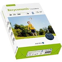 Papyrus 88031811 Recycling-Druckerpapier Recyconomic Classicwhite, 80 g/m², A4, 500 Blatt, CIE-Weiße: 55 (recycling-grau)