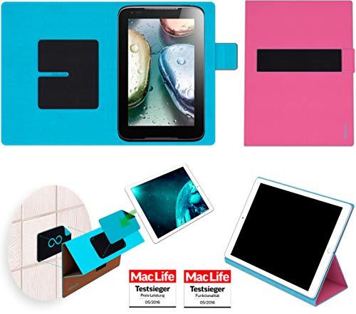Hülle für Lenovo IdeaTab A1000 Tasche Cover Case Bumper | in Pink | Testsieger