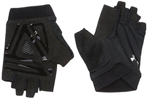 Rüstung Handschuhe (Under Armour Cs Flux Training Glove - black / black / silver, Größe #:S)