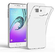 Samsung Galaxy A3 2016 A310 Funda, EJBOTH TPU Funda suave Flexible teléfono protectora espalda Protección integral cubierta transparente cobertura para Samsung Galaxy A3 2016 A310 - Antideslizante Rasguño Resistente Impermeable Diseño de tampón de puntos