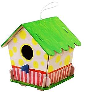 Robo Time F199: Puzzel 3D para casa de pájaros