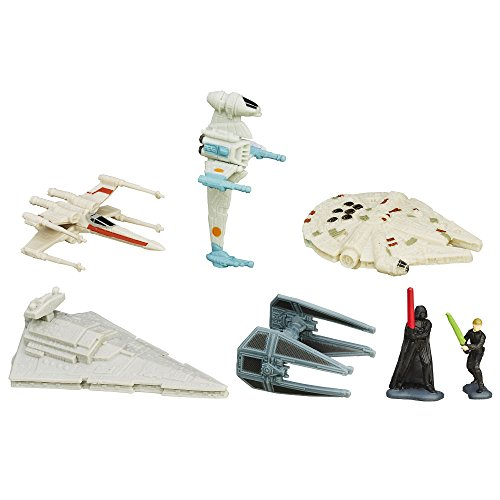 Hasbro – B3825 – Micro Machines – Star Wars – Chute de l'Empire