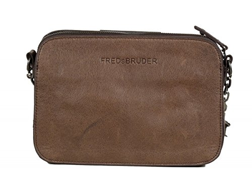 FREDsBRUDER Pralina Sac bandoulière cuir 24 cm braun