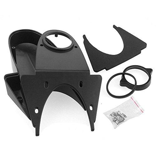 Komplett Set Ersatzgehäuse für Transporter Aufbau Rückfahrkamera (schwarz) (Gehäusedeckel-schrauben)