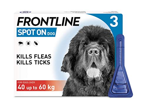 Frontline Spot on per cani XL, 40 - 60 kg, 3 pipette