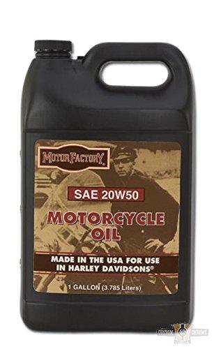 Motor Factory Hochleistungs SAE 20W50 Motoröl Öl mineralisch für Harley (3,8L)