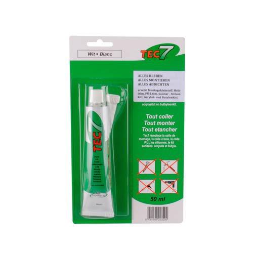 Preisvergleich Produktbild TEC7 Klebe- und Dichtmittel weiß 50 ml